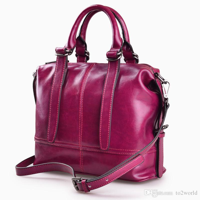 Moda feminina bolsa de couro Bolsa de Ombro Mensageiro Satchel Bags