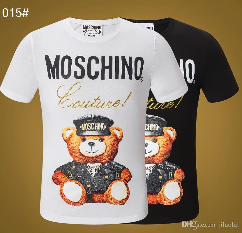 Erkekler Için 2019 İtalyan Yaz lüks Tasarımcı T Shirt Moda Çanta Bugs gözler