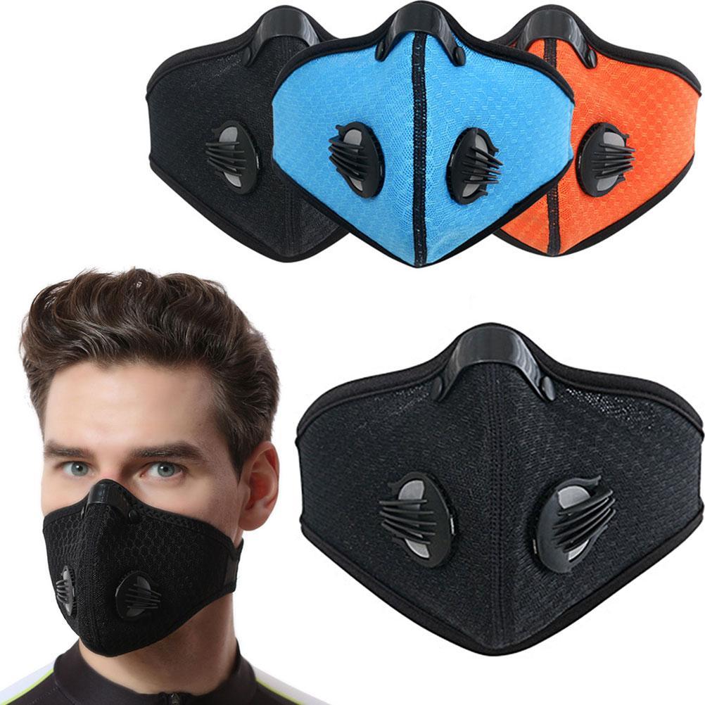 Visage anti-poussière pollution masque anti-poussière Filtre coton feuille Course à pied Cyclisme Masque Masque bouche Pollution de l'air extérieur A35