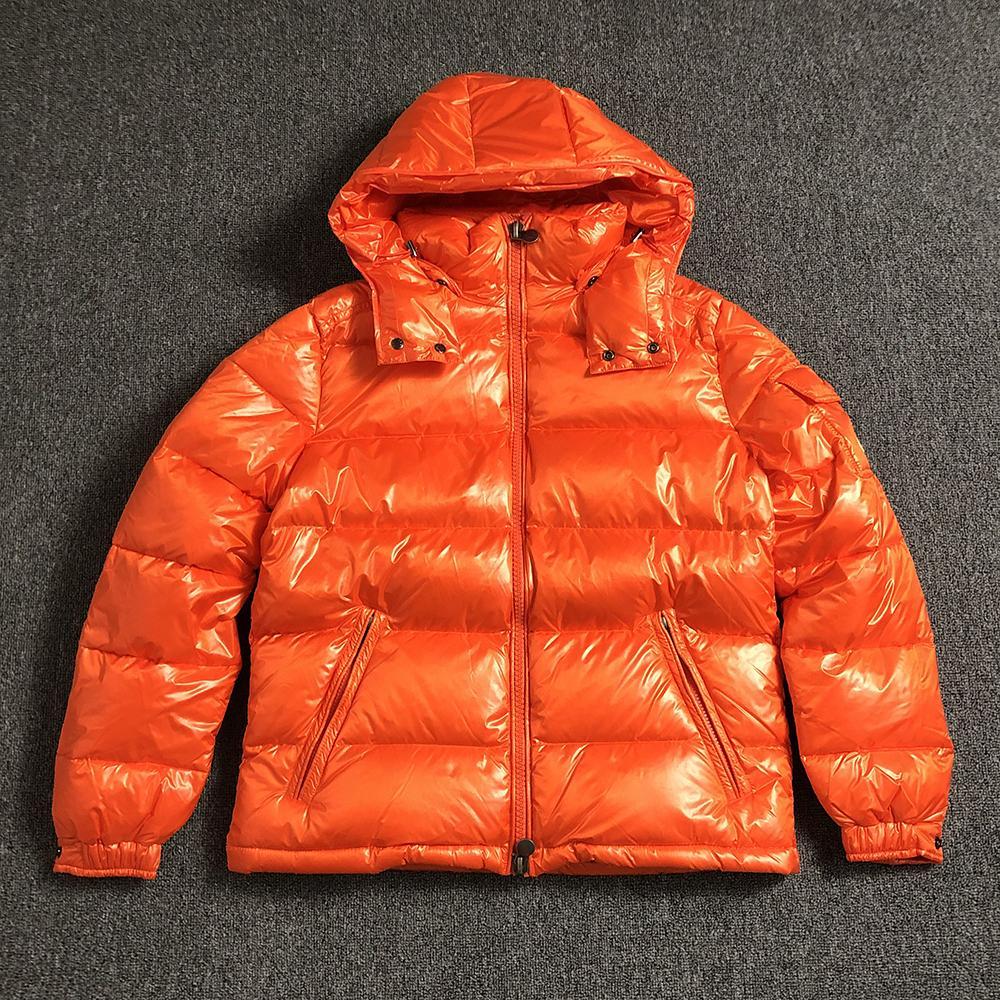 giacca per gli uomini neri uomini britannici di stile piumino cappotto con cappuccio classica, tenere al caldo piume d'anatra bianca cappotti invernali da uomo S-XXXL