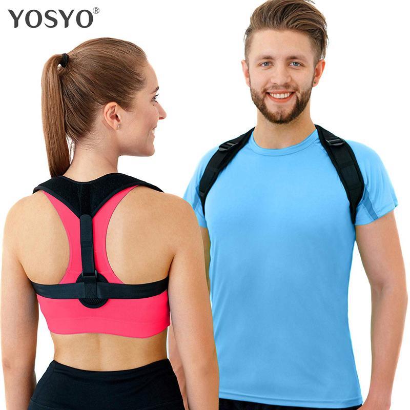 Posteriore correttore donne uomini, prevenire slouching alleviare il dolore postura cinghie, supporto clavicola brace trasporto di goccia