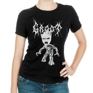 Noir MetalShort-SleeveT shirt manches courtes T-shirt des femmes des hommes