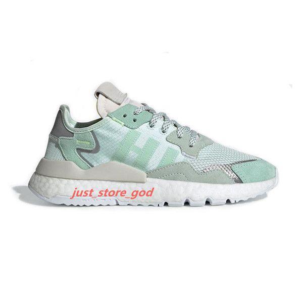 adidas 2020 nis jogger 3m réfléchissantes hococal hommes femmes chaussures de course triple formateurs chaussures de sport pour hommes de qualité supérieure noir blanc vert