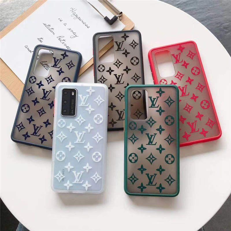 para Huawei p30 p40 mate30 nova5 nova6 nova7 p30pro mate20pro la cubierta del caso para el iPhone 11 11Pro 7 8 Plus XR XS máx vuelta de lujo Coque Fundas