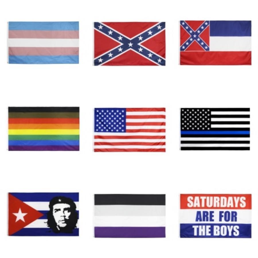 Bandera Campaña Bandera Trump Trump Elección 2020 90 * 150 apoya la Gran Bandera de Donald Trump de los Estados Unidos # 771