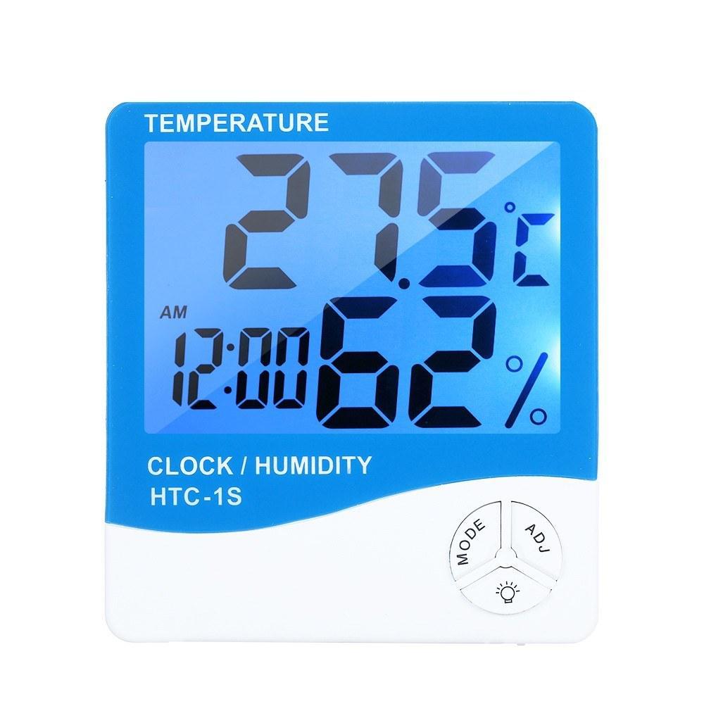 LCD digitale dell'interno del termometro in camera di umidità di temperatura del tester del calibro di allarme C E8465