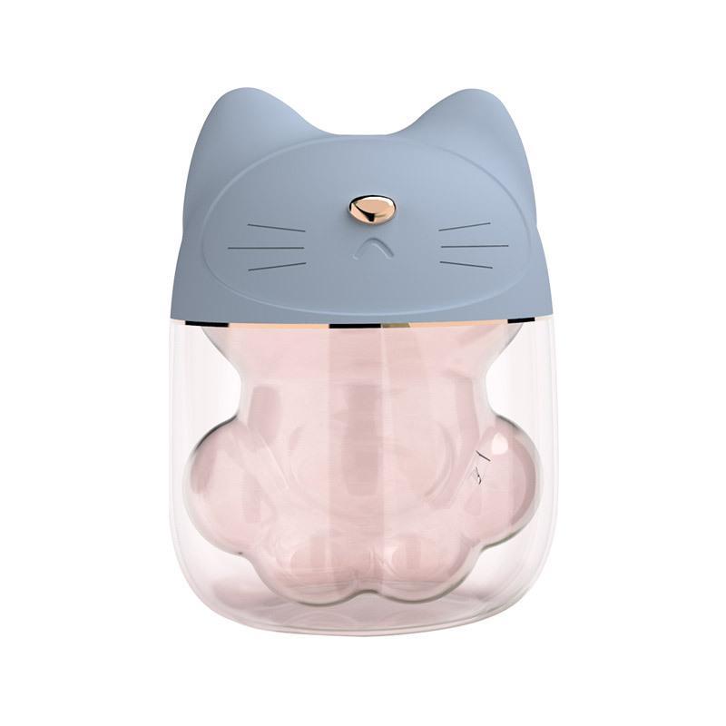 ca için uygundur Evde Mini Kedi Pençesi Hava Nemlendirici USB humidificador difusor de ACEITES esenciales ultrasonik hava nemlendirici