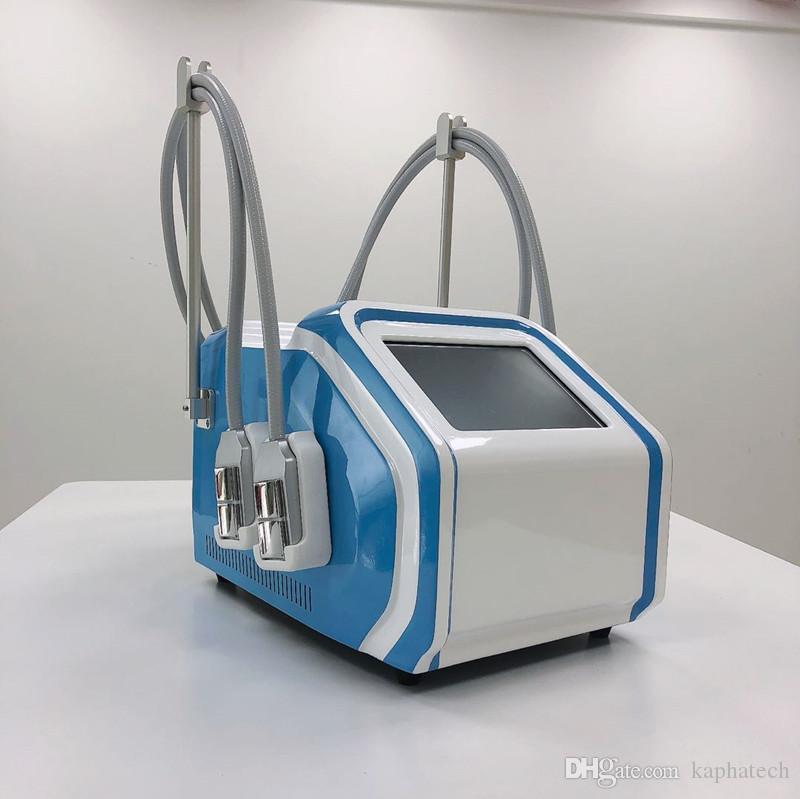 Nueva llegada no vacío cuerpo adelgazar máquina crio Dispositivo Cryolipolysis ccsme paletas con asas cojín 4 fresco
