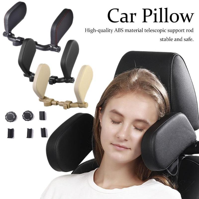 Car Seat Headrest Travel Rest Neck Pillow Support Auto Sleeping Seat Head Cushion Car Pillow For Kids And Adults Children