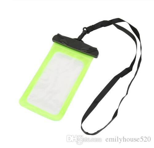 Easy Take Photos Touch Phone Screen Underwater Waterproof Dry Bag Phone perfect for Swimming, Outdoor Sports