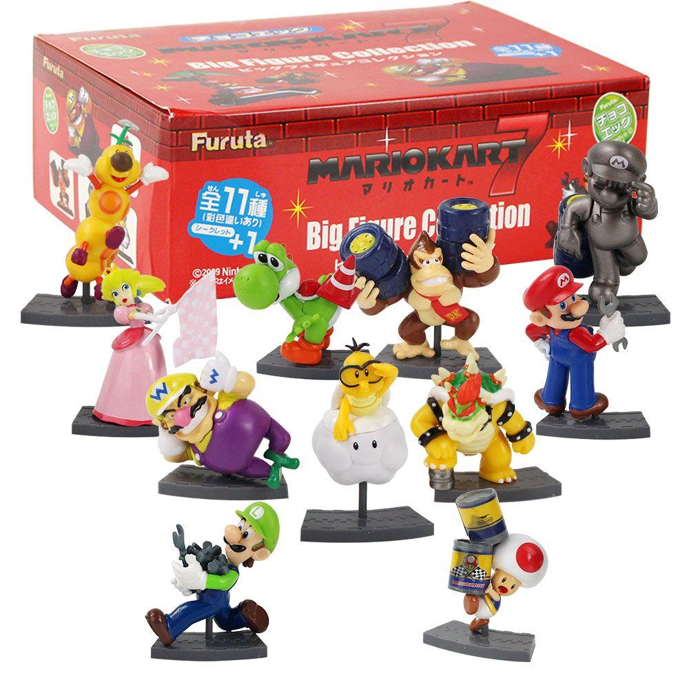 2020 Super Mario Bros Figure Toy Luigi Yoshi Toad Koopa Bowser