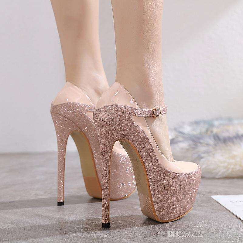 Pink And Nude Heels