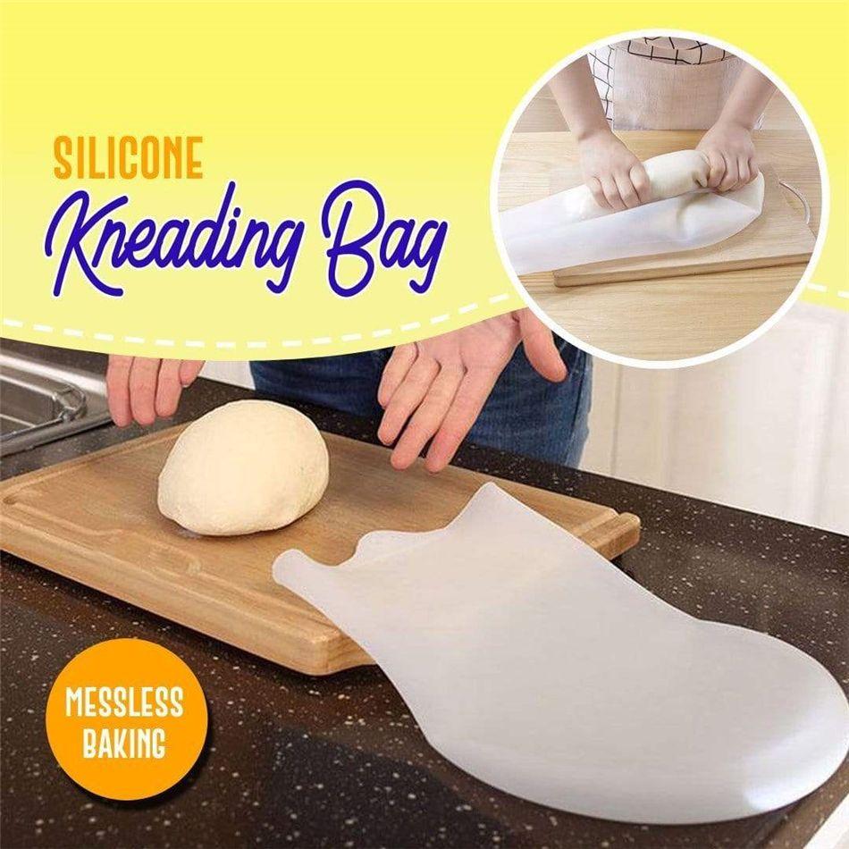 Silicone AMASSO saco de farinha Amassar farinha de mistura sacola reutilizável Cozinhar Ferramentas Pastelaria Farinha amassar Bolsas Ferramentas Bakeware cozinha