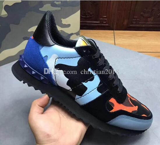 NEW fashion Designer Speed Trainer Casual Boots Thick Heel Stretch-Knit designer sneaker Casual Shoes Woman with Rockrunner Camouflage