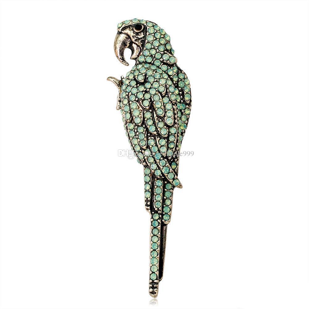 Commercio all'ingrosso 2 colori strass pin pin spilla Brooches design distintivo metallo smalto pin broche donne gioielli di lusso decorazione del partito