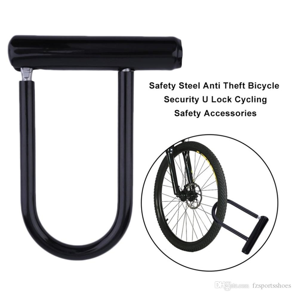 Lock Anti Theft Portable Bike Bicycle Chain Road Security Steel Ring Folding