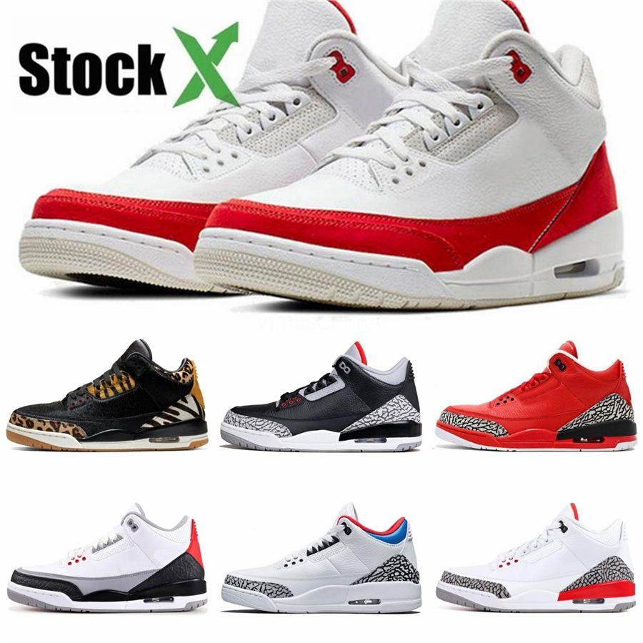 2020 Bred White Cement 3 3S Iv What The Cactus Jack Cool Grey Mens Basketball Shoes Fiba Unc Mushroom Denim Blue Men Sport Designer Sneaker#3