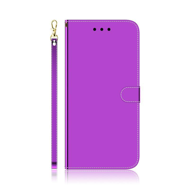 Glatter Stoß- Leder-Kasten für Samsung-Galaxie-A10 / A10S / M10 / A20 / A20S / A30 / A50 / A30S / A50S Flip Cover Ständer mit Karte Card-Steckplatz