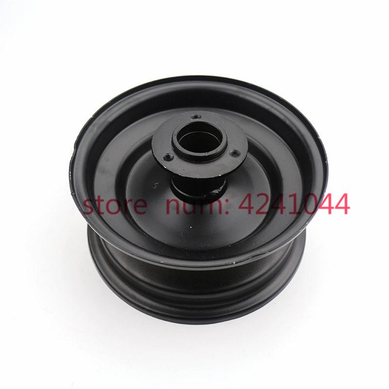 6 inch 4wheel ATV refit accessories rear wheel hub 6'' small bull three hole Flange seat alloy rims use 145/70-6 tire tyre