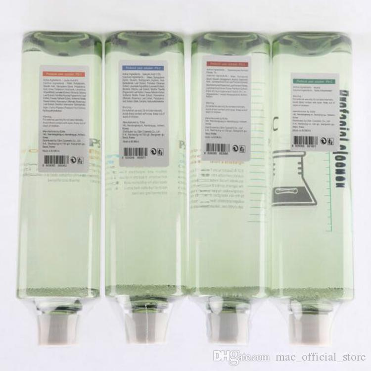 Hydra 4 botellas de suero facial para máquina de limpieza de la piel por dermoabrasión de agua Aqua Peeling Solution por botella Aqua Facial Serum CE