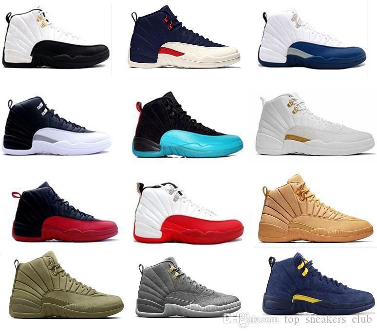 Cheap 12 Basketball Shoes 12s Bulls