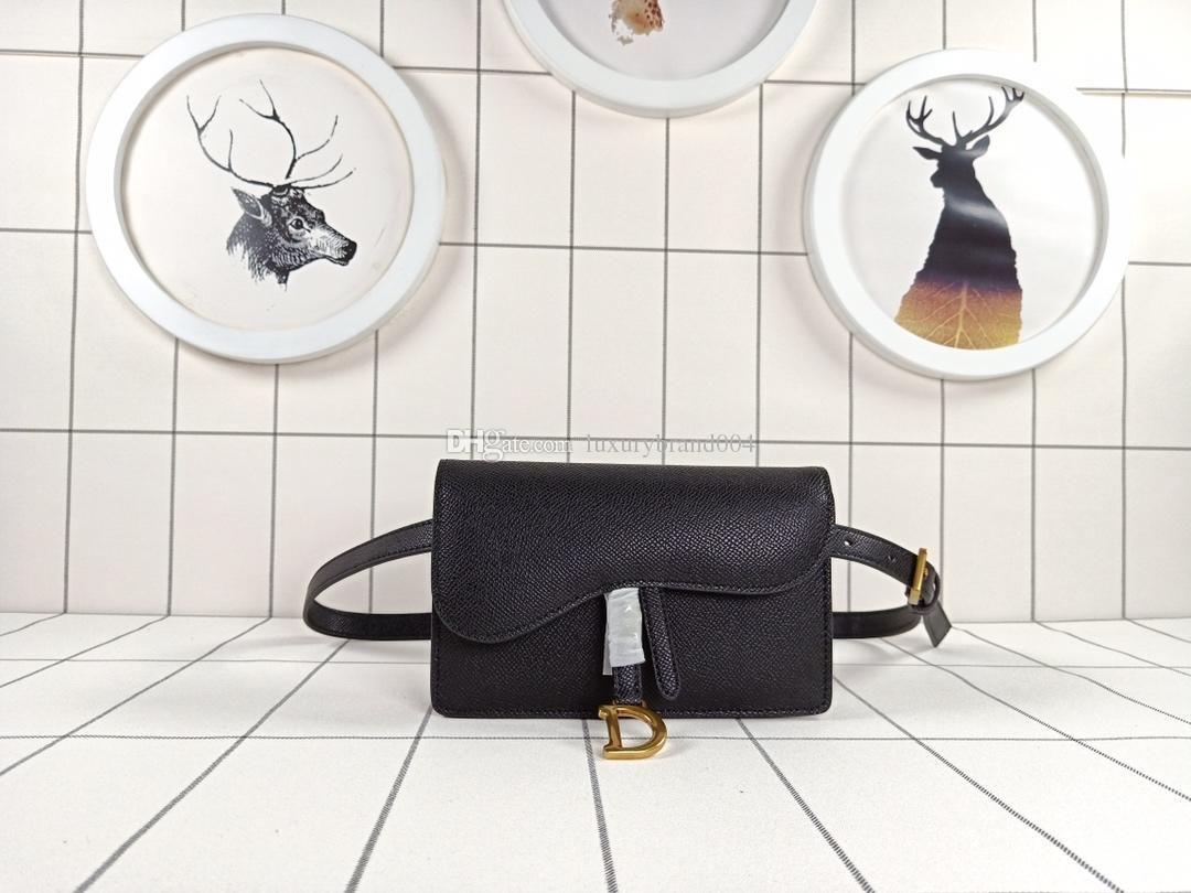 2019 New Classic Women Letter pendant D Waist Bags Crossbody Belt Bag Messenger Designer Bags Bumbag Leather Cross Fanny Pack size17X11x4cm