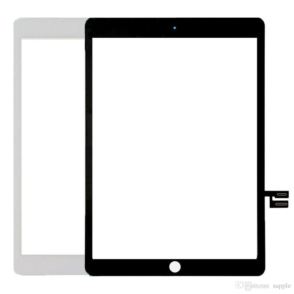 50Piece Touch Screen Digitizer Panel Glass For iPad 7 10.2 7th Gen A2197 A2198 A2200+Adhesive Replacement DHL Free