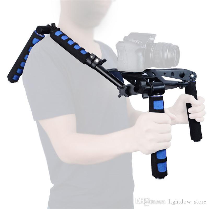 DSLR Rig Movie Kit Shoulder Mount Support Set Stabilizer fo rCanon 77D 760D 800D 70D 80D 5D II 7D 600D Nikon/Sony Cameras