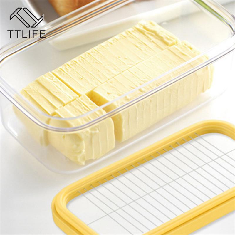 TTLIFE dettagli circa 2 a 1 Burro Saver Keeper Storage Case Burro contenitore della cassa da cucina accessori di conservazione