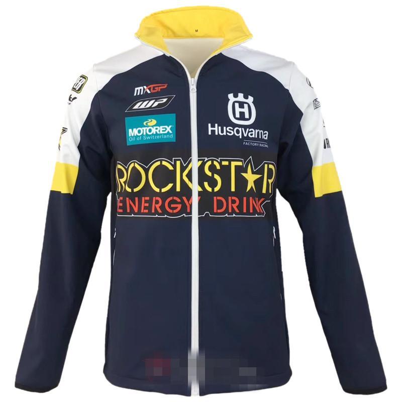 Novo para HUSQVARNA motocross Camisolas esportes Ao Ar Livre Softshell Jaqueta jaquetas de corrida de moto Com zíper Manter quente