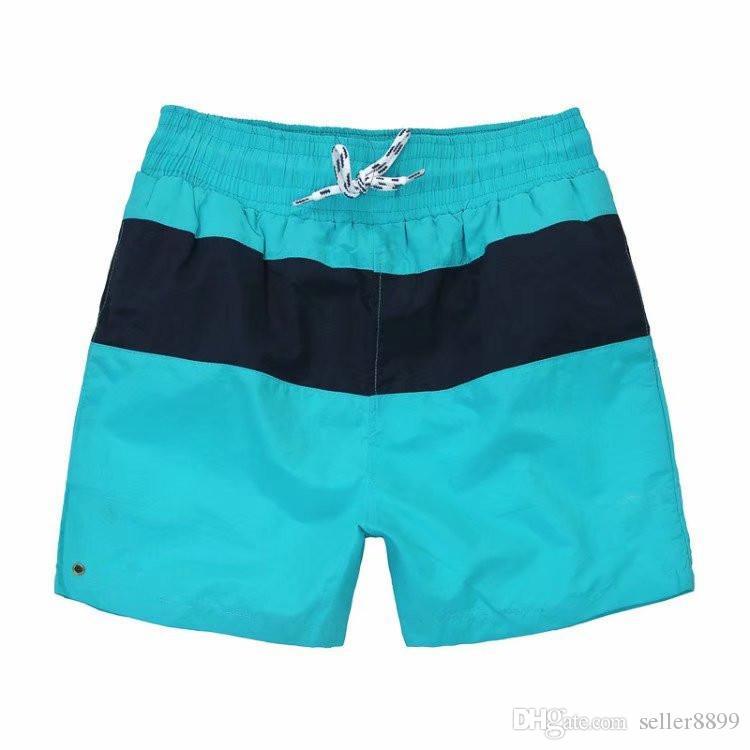 السراويل القصيرة الجديدة ذات اللون الصلب العرضي ... ... السراويل القصيرة على غرار برمودا masculina السباحة السراويل القصيرة ... ... الرجال الرياضية قصيرة
