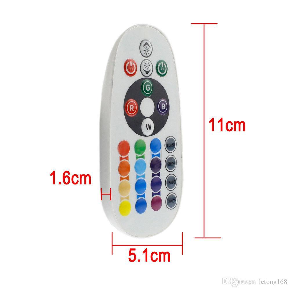VOITURE 2-16 couleurs RVB LED Carte feston dôme lampe intérieure 41mm C5W Télécommande
