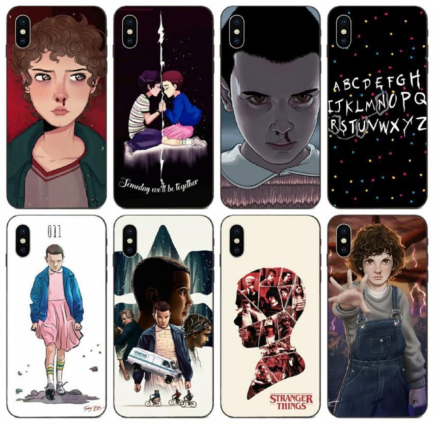 [TongTrade] Stranger Things Christmas Lights Case For iPhone 8 7 6s 5s Plus X XS 11 Pro Max Galaxy J5 Huawei Nova 5 Xiaomi 9 Anti Slip Case