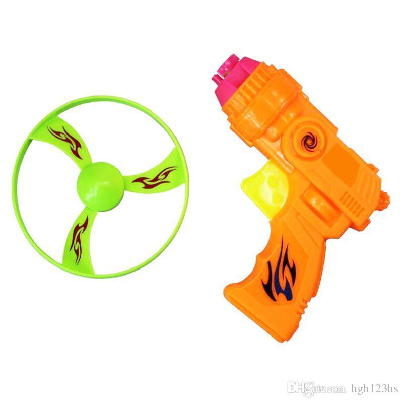 Kids Flying Saucers Discs Flywheel Plastic Sporting Toys for Children Outdoor Novelty Games Exercise Boys Girls New