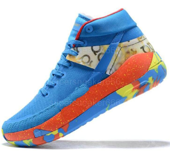 Pas cher Kevin Durant 13 Kd de basket-ball Chaussures de 13s pour Hommes Noir Bleu Camo Soles Bred 2020 Nouveaux Baskets Chaussures Chaussures de sport d'arrivée 7-12 A25