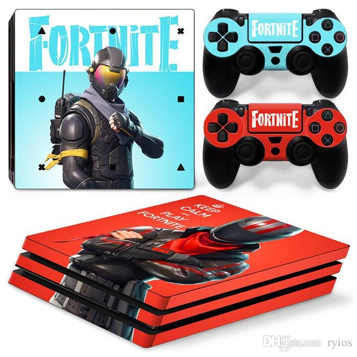 2019 Playstation 4 Skins Cover Ps4 Pro Protective Console System Controller Good Kids Friends Gift Game Theme Fortnite Battle Royale From Ryios