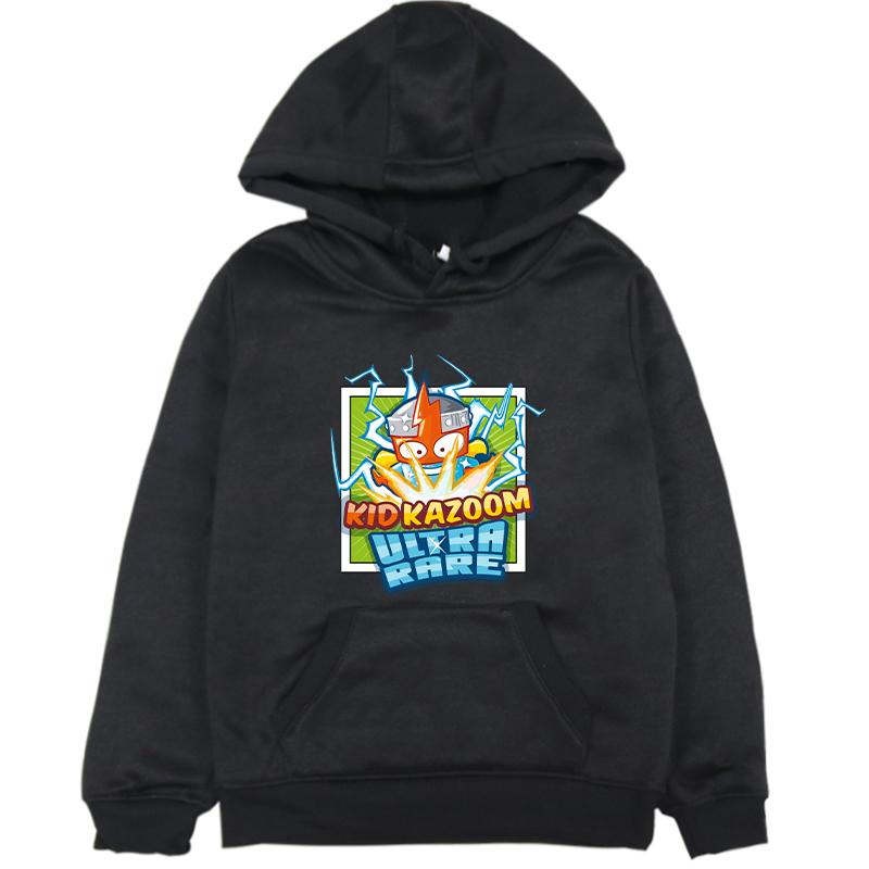 Newest Spring Boys Girls Super Zings Hoodies Fleece Warm Child Superzings Sweatshirt Sportswear Pullover Kids Harajuku Clothes