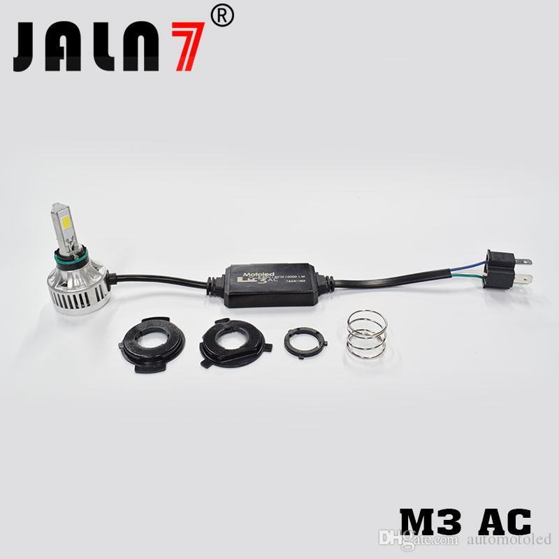 M3AC H4 모토 LED 라이트 H4 주도 오토바이 헤드 라이트 BA20D LED 모토 전구 40W 4000Lm H4 헤드 오토바이 램프