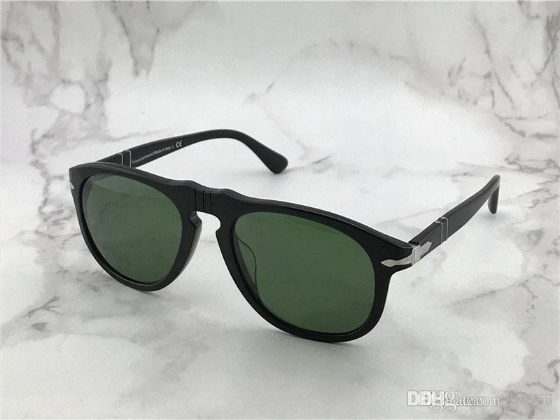 Semplice stile stile moda pilota retrò telaio design uomo e donne occhiali da sole all'aperto protezione anti-UV occhiali con scatola originale PE649