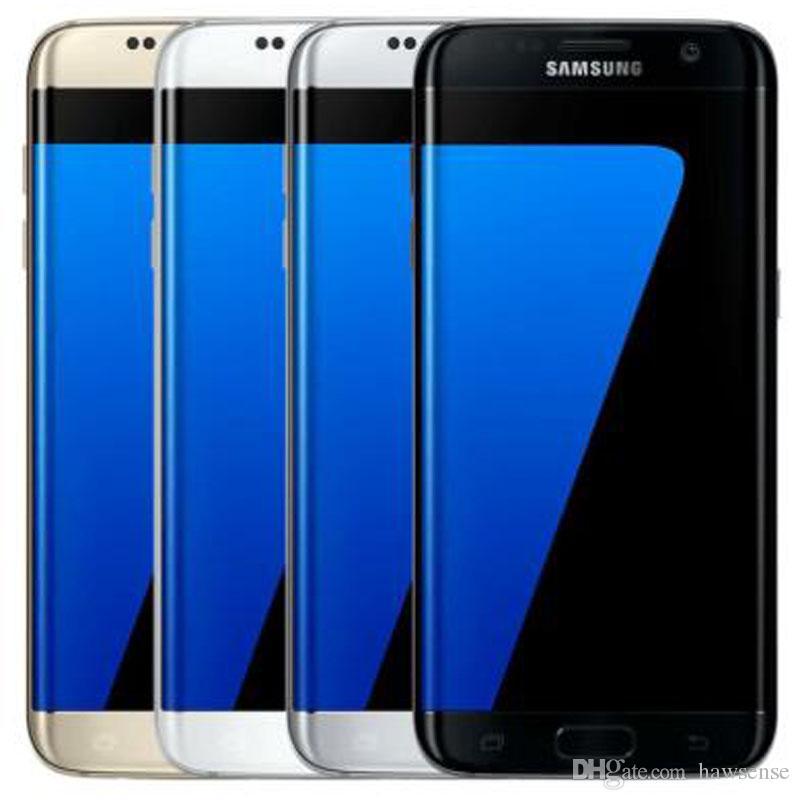 """Remis à neuf origine pour Samsung Galaxy S7 bord G935F G935A G935T G935V G935P 5.5"""" Quad Core 4 Go 32 Go de RAM ROM 12MP 4G LTE téléphone portable DHL 1pc"""