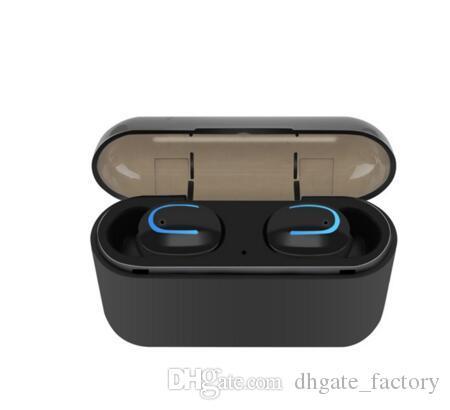 Q32 TWS 블루투스 5.0 Blutooth 이어폰 무선 헤드폰 휴대 전화 용 진정한 무선 스테레오 헤드폰 스포츠 핸즈프리 이어 버드 HBQ-Q32