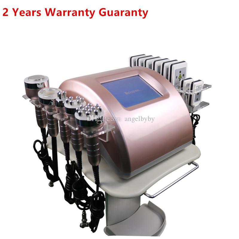 Nuovo arrivo ! Forte 40K Ultrasuoni Vacuum Removal Body Sculpting Cellulite macchina dimagrante cavitazione vuoto della pelle RF Lipo Laser RF macchina