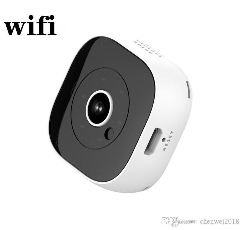 Full HD 1080P Mini Kamera H9 Kablosuz WiFi IP Kamera IR Gece Görüş Mini DV DVR Kameralar Ev Güvenlik Gözetleme CCTV Kamera