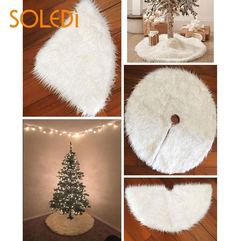 Non-Woven Surround Empfindliche Start Teppich weiche Verzierung Weihnachtsbaum-Rock-Dekor