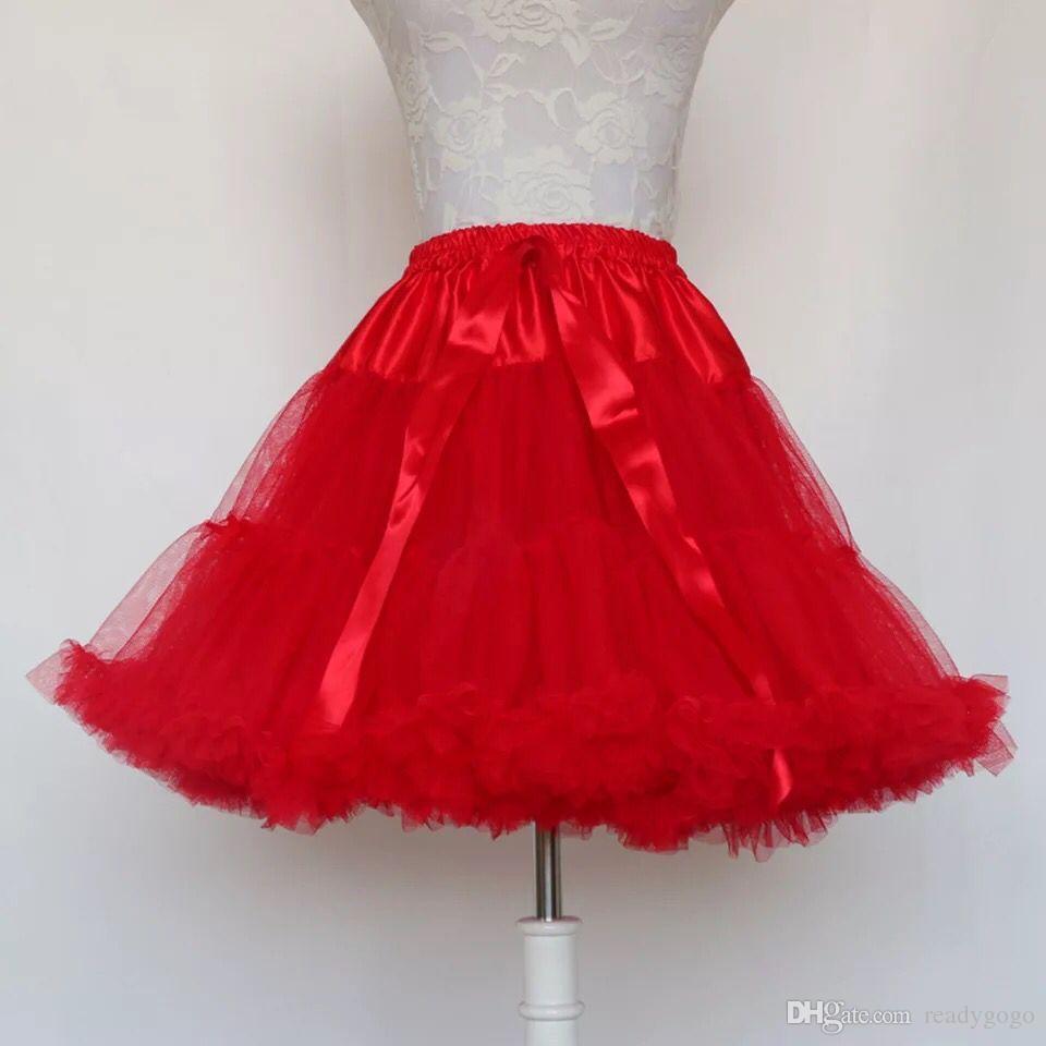 الكرة ثوب تحتية تأثيري سوينغ فستان قصير نسائي لوليتا التنورة الباليه توتو تنورة روكبيلي قماش قطني لحفل الزفاف