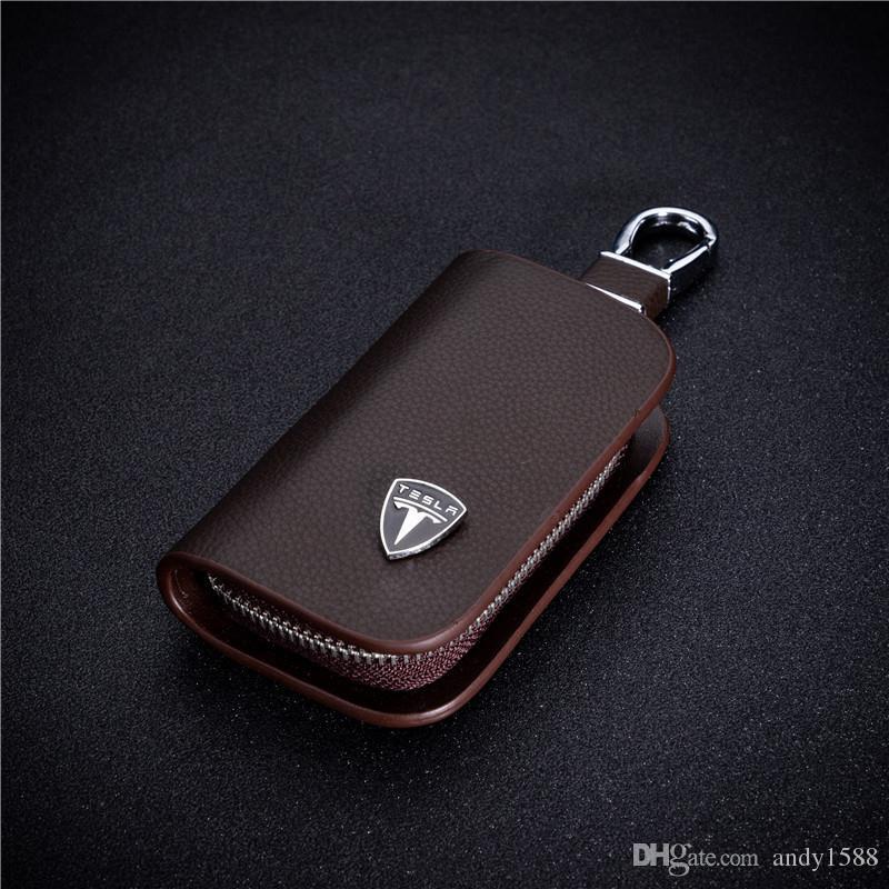 BMW Pochette couverture protectrice pour clefs de voiture Cuir Etuis Porte-cl/és Classique Porte-Monnaie Cl/é