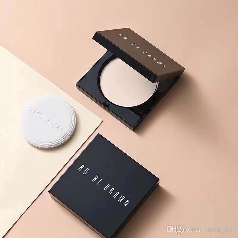 marca famosa Bobi marrone premuto colore in polvere 1 # 5 # fondazione cipria polvere trucco