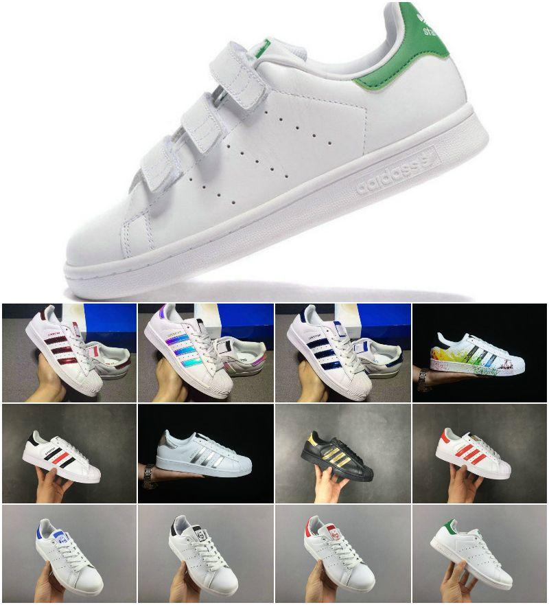 2019 Originals Superstar weiß Hologramm schillernden Junior Superstars 80er Jahre Pride Sneakers Super Star Frauen Männer Stan Smith Sport Freizeitschuhe