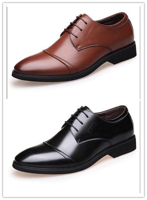 2019 homens casuais sapatos de negócios Zapatillas casuales vestido sapatos de couro de alta qualidade Sports Scarpe Chaussures de sapatilhas do desenhista 40--47