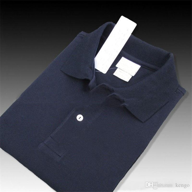 여름 남성 폴로 셔츠 자수 악어 남성 폴로 셔츠 패션 스타일 남성 캐주얼 통기성 뜨거운 아시아 크기 XS ~ 4XL 탑 탑